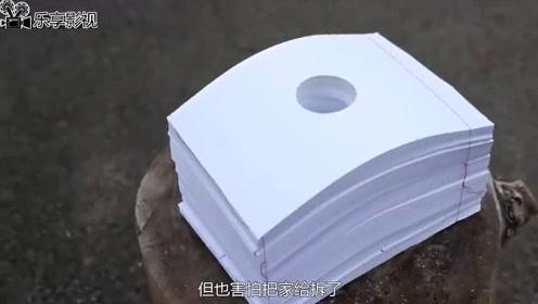 把鞭炮放入1500张A4纸中,引燃鞭炮会发生什么一起见识一下