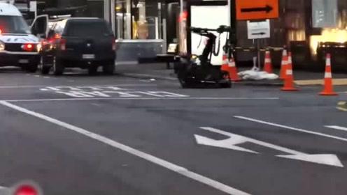 新西兰奥克兰发生爆炸