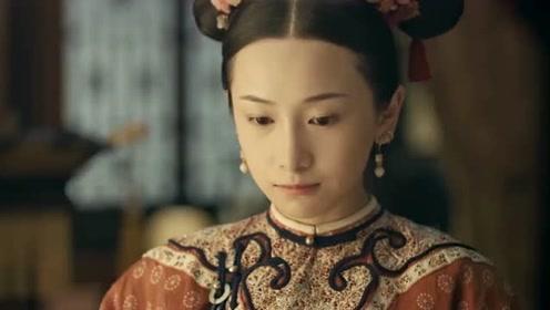 魏璎珞冒雨救花,皇后看在眼里,明玉无话可说
