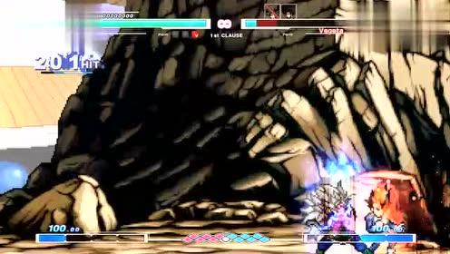 Mugen:超五自在空vs三版本自在极意功 谁才是最强的赛亚人!