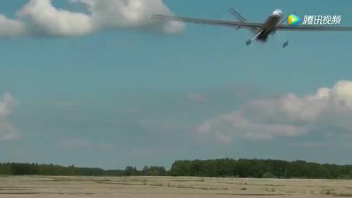 实拍俄远程无人机首次试飞   战力不可小觑