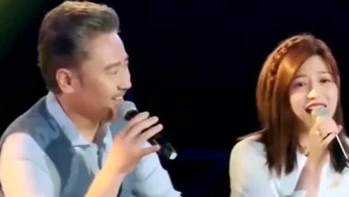 吴秀波、陈妍希合唱《想把我唱给你听》还是挺好听的