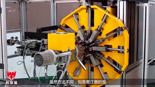 电梯的运转主要靠发动机,而发动机的定子尤为重要