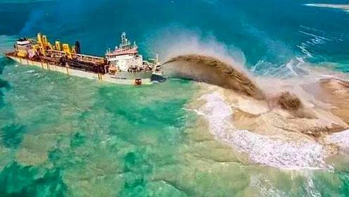 """中国""""造岛神器""""获大奖!南海将出现1.1万艘航母,巨龙即将腾飞"""