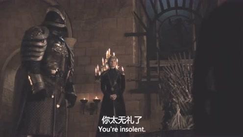 《权利的游戏》瑟曦这个女王当的真窝囊,竟然被他强迫!