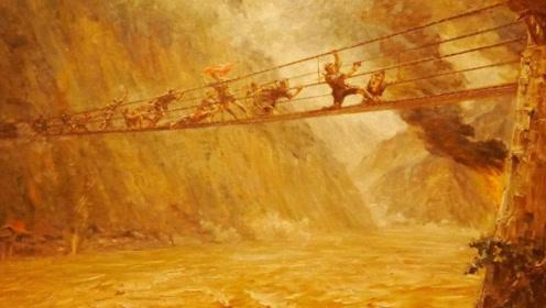 红军在飞夺泸定桥时,为何敌军没有直接炸索桥?其实答案很简单