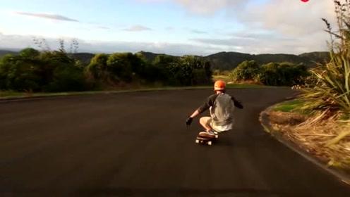 公路速降滑板