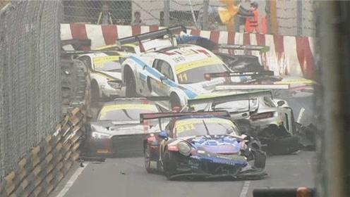 格兰披治赛车澳门站:一个小细节,断送了全部的赛车手!