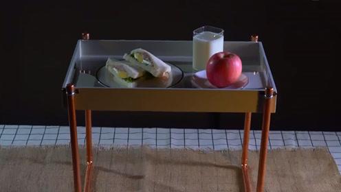 有了这个创意懒人桌,我愿意在家宅一辈子