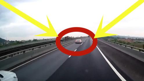 高速公路上,两司机相遇碰撞出火花,监控拍下全部过程!