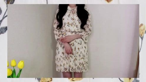 人见人爱的4款夏季连衣裙穿搭分享,超喜欢小碎花连衣裙!