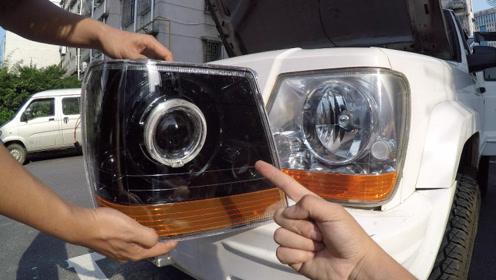原厂车灯太平庸?教你避开灯光改装误区,用最少的钱改最帅的灯
