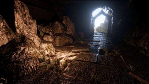 一个老农放羊发现大洞 进去后发现里面全是黄金