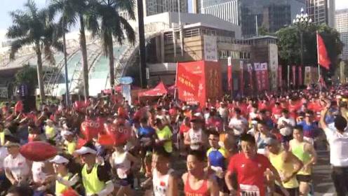 今天最安全的一条街!全国3000名警察蜀黍齐聚参加马拉松赛