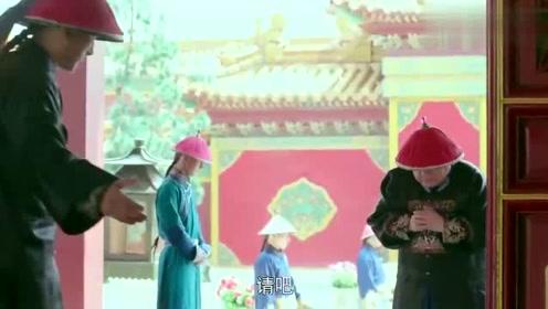 贪官在霸道皇帝面前说灰姑娘的坏话,没想到一抬头直接吓到腿软