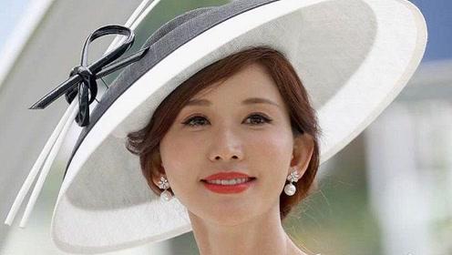 林志玲宣布结婚后首次公开亮相,戴圆礼帽与英国王室同看赛马,优雅得体