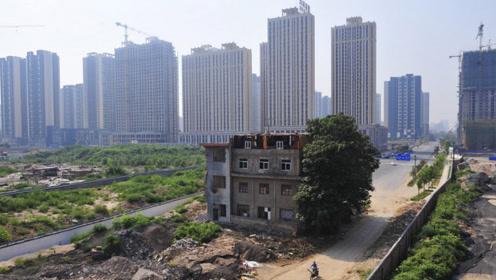 """中国""""最强势""""的钉子户,给80亿也不拆,定睛一看:这谁敢拆"""