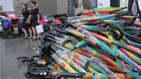 共享雨伞大量丢失,为何投资人却很开心?这是为什么?