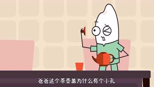 为什么茶壶盖上有一个小孔?