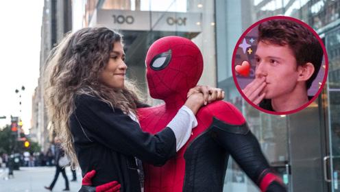 《蜘蛛侠:英雄远征》独家片花 荷兰弟银幕初吻甜到掉牙!