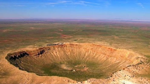 陨石坑这么大,为什么看不见一点陨石?看完难以置信