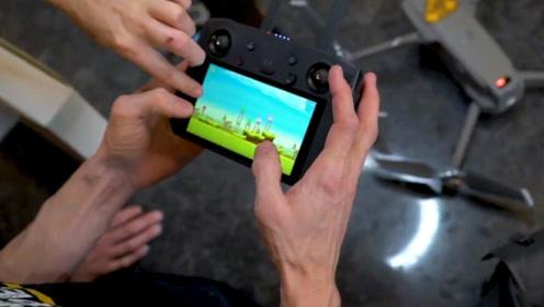 即能玩游戏又能操控航拍器的遥控器,你玩过吗?网友:一举两得啊