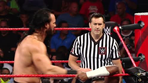 RAW1364期: 轻量级塞德里克单打麦金泰尔 灵活反转制胜