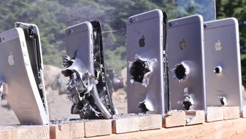 一颗AK74子弹能击穿多少部iPhone?结果太震撼了!