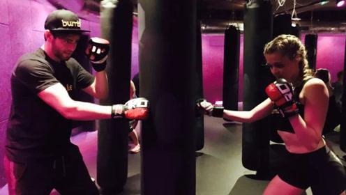 小伙子竟在健身房跟人打了一场MMA大战!