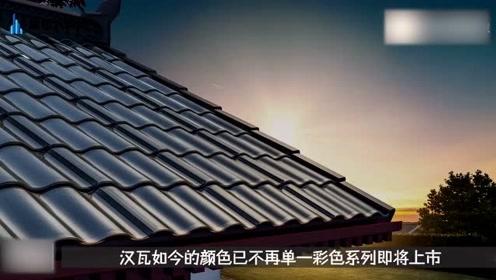 中国采用传统瓦片发电,流光溢彩还坚固耐用,省钱还能赚钱