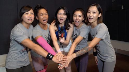 美女主播吴冬妮带你探访WWE中国之星选秀 探寻擂台潜力股