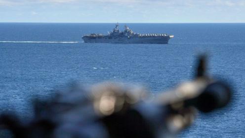 """特朗普称一架伊朗无人机飞入美舰""""威胁范围"""",被美军击落"""