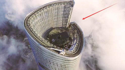 上海中心大厦高632米,刮风摆动幅度超1米,还有人敢待里面吗