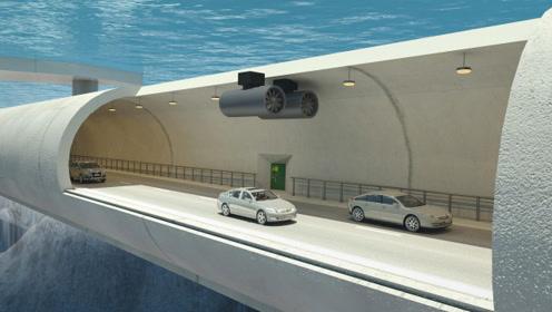 46米深的港珠澳大桥隧道,万一漏水怎么逃生?佩服工程师智慧
