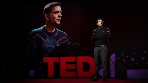 """TED:一个连毛孔、皱纹都和他一模一样的""""数码人"""""""