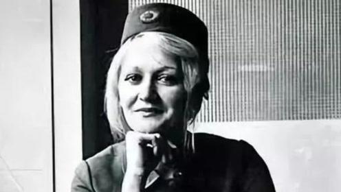 万米高空飞机爆炸,22岁空姐成唯一幸存者,晚年却在内疚中去世