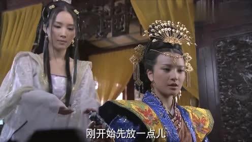 妃子为了争宠什么招都用上了,穿成这样出现,难怪皇上喜欢的不行