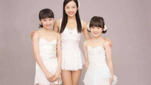 日本溜冰场上的富家三千金!美貌实力出众,他们爷爷年赚20亿