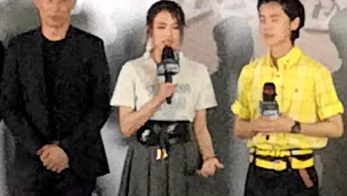 《上海堡垒》首映礼,舒淇接拍影片原因太逗了
