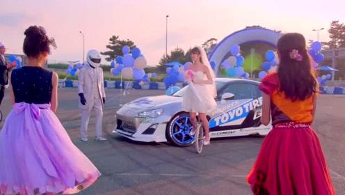 轮胎品牌创意广告片  漂移求婚
