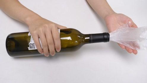 今天才知道,往红酒瓶里吹一口气,没想到有这么棒作用,太神奇了