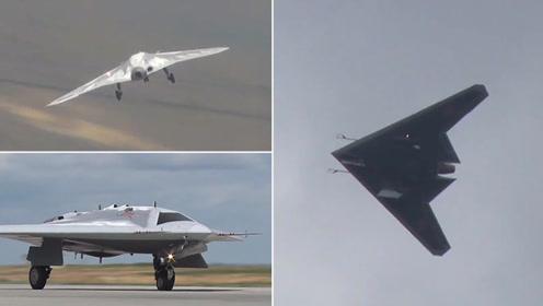 俄军方公布首款重型攻击隐身无人机首飞视频 细节一览无余