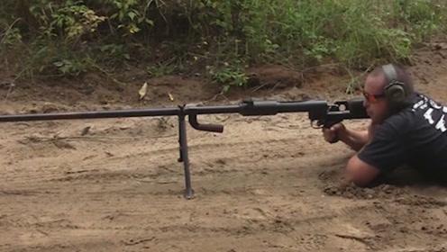 专门针对坦克的枪,一枪下去坦克轻则瘫痪,重则起火