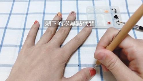 DIY手绘指甲,有了它在家想怎么画就怎么画,简单好上手