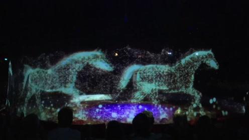 太硬核!3D全息投影动物表演 科技加持的马戏团你会买单吗?