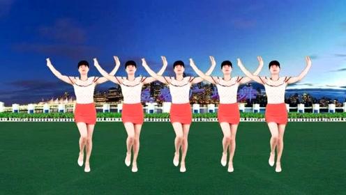 火爆网红32步《灰姑娘》歌曲热情又大方,舞步潇洒还时尚