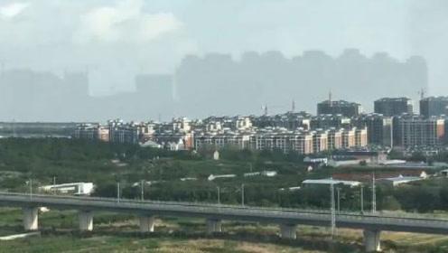 山东烟台出现海市蜃楼,热心市民拍下壮观一幕,真是太震撼了!