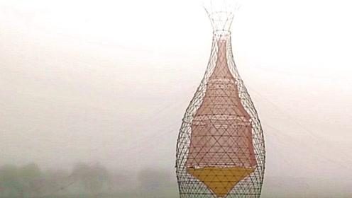非洲人造了座竹塔,每天凭空收集100升水,设计者真是个天才!