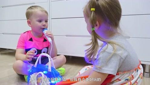 萌娃:哥哥,你的玩具虽然好玩,但是还是不如我的