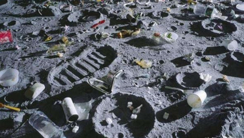 月球上发现高达187吨垃圾,到底是谁丢的呢?今天总算知道了